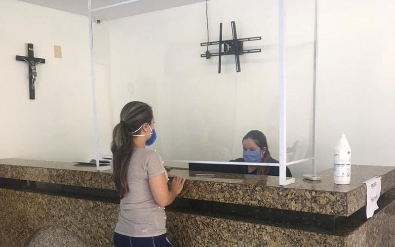 Serviços da São Gabriel seguem normas de segurança sanitárias, em prevenção à Covid-19